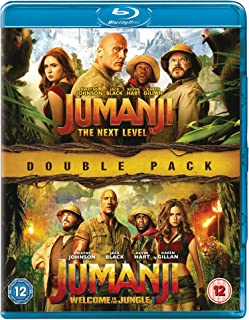 Jumanji: The Next Level & Welcome To The Jungle [Blu-ray] [2019]