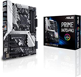 Asus PRIME X470-PRO AMD AM4 X470 ATX - Placa con M.2 heatsink, DDR4 3600MHz, dual M.2, HDMI, SATA 6Gbps y USB 3.1 Gen 2 conector panel frontal