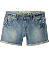 Toobydoo Tooby Jeans - Shorts in Denim (Toddler/Little Kids/Big Kids)