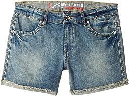 Tooby Jeans - Shorts in Denim (Toddler/Little Kids/Big Kids)