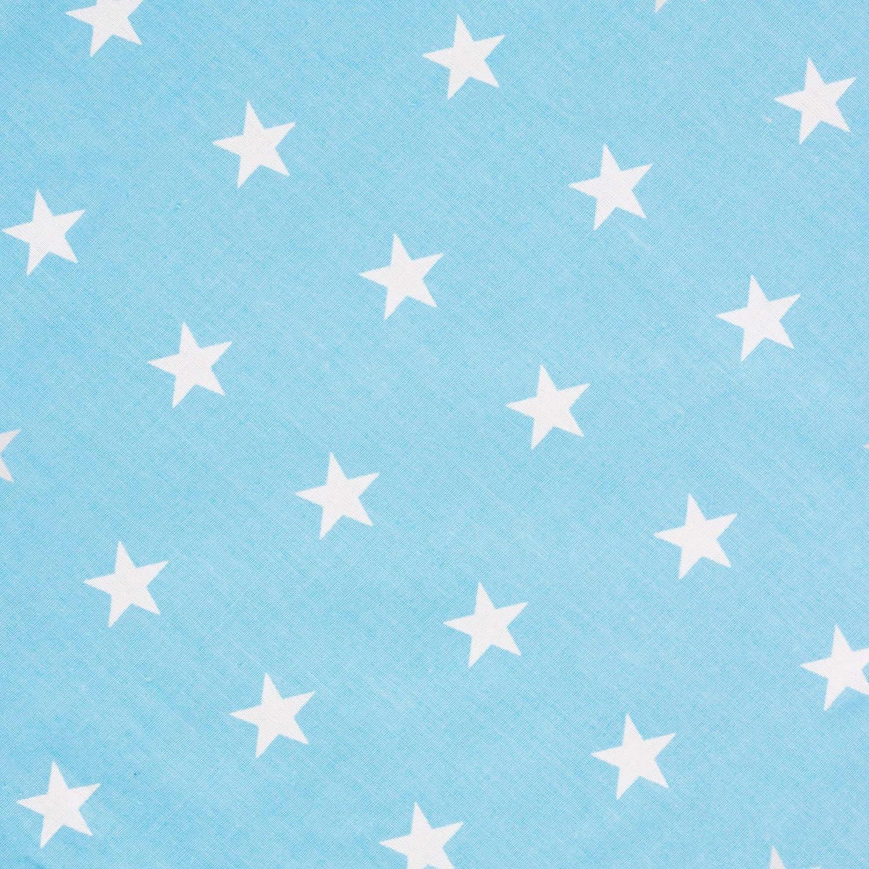 Azul // Estrellas SPRINGOS Teepee Tipi Tienda de campa/ña Wigwam Play House de algod/ón 160 120 100 cm Grande