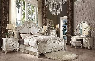 ACME Versailles Bone White Queen Bed
