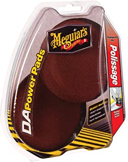 Meguiar's G3507 G3507 DA Easy, Powerful Defect Removal with Foam Compounding Pads