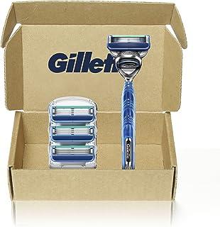Gillette Gillette5 Men's Razor Handle + 4 Blade Refills