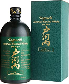 Togouchi 9 Years Old Japanese Blended Whisky mit Geschenkverpackung 1 x 0.7 l