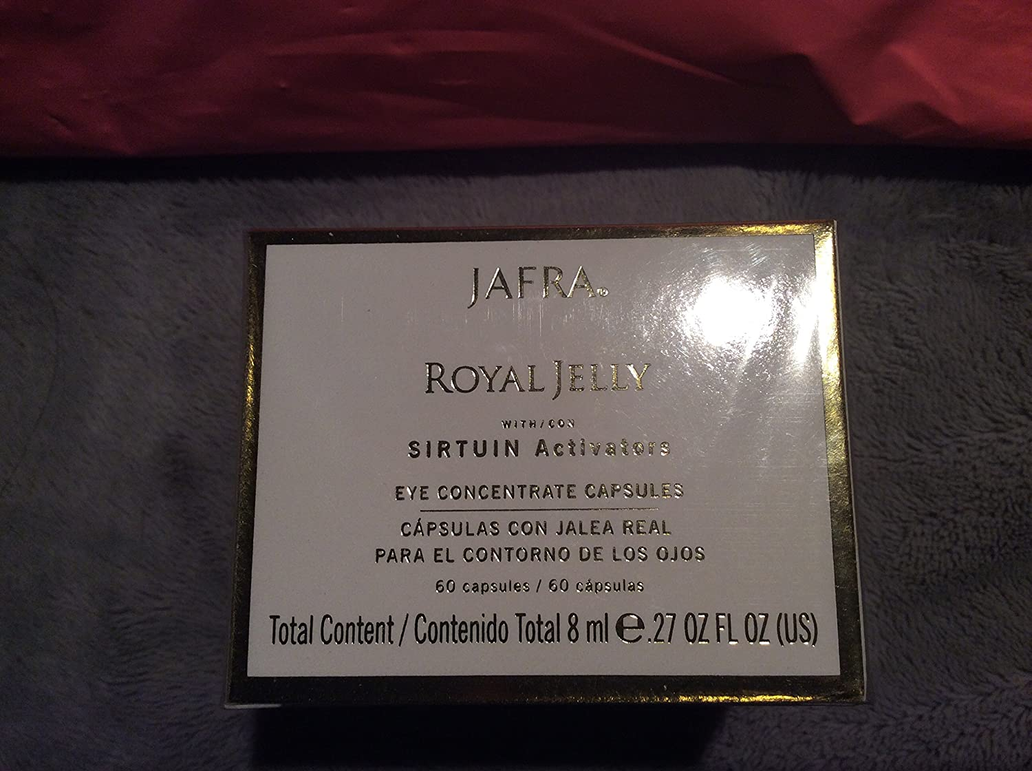 Jafra Royal Jelly Limited price Eye Concentrate Capsules 60 Miami Mall fl. o capsules .27