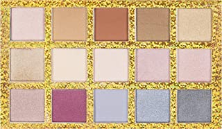 Nicole Miller Hello Darling Colorful Eye Shadow Palette, Eye Makeup for Women, Makeup Set and Cosmetics for Girls, 15 Varied Shades of Neutral, Light, Medium, Metallic and Bold Eyeshadow Colors