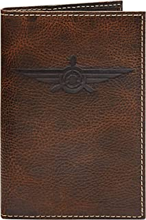 HOJ Co. Lindbergh PASSPORT COVER | Full Grain Leather Travel Wallet | Passport Case | Passport Holder