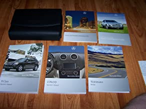 2010 MERCEDES BENZ M CLASS MODELS Owners Manual SET KIT W CASE FACTORY OEM 2010 (OWNERS MANUAL KIT WITH CASE AND MANUALS.)
