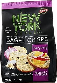 New York Style Bagel Crisps, Everything, 7.2 oz