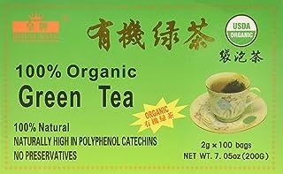 China Green Tea 100 Tea Bags (Organic) by A2AWorld Green Tea