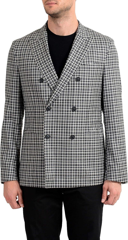 Hugo Boss Nayler-J Men's 100% Wool Slim Double Breasted Blazer Sport Coat Sz US