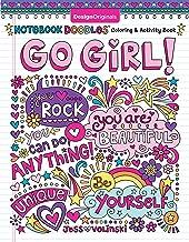 Notebook Doodles Go Girl!: Coloring & Activity Book (Design Originals) 30 Inspiring Designs; Beginner-Friendly Empowering ...