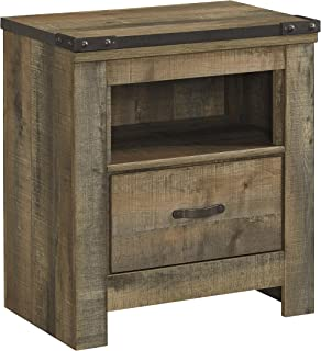 Ashley Trinell One Drawer Nightstand in Brown