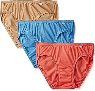 Jockey Women's Bikini (Pack of 3) (1410_Light Assorted_S)(Color May Vary)