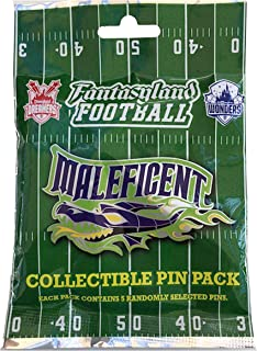 Disney Pin - Fantasyland Football Mystery Pin Pack