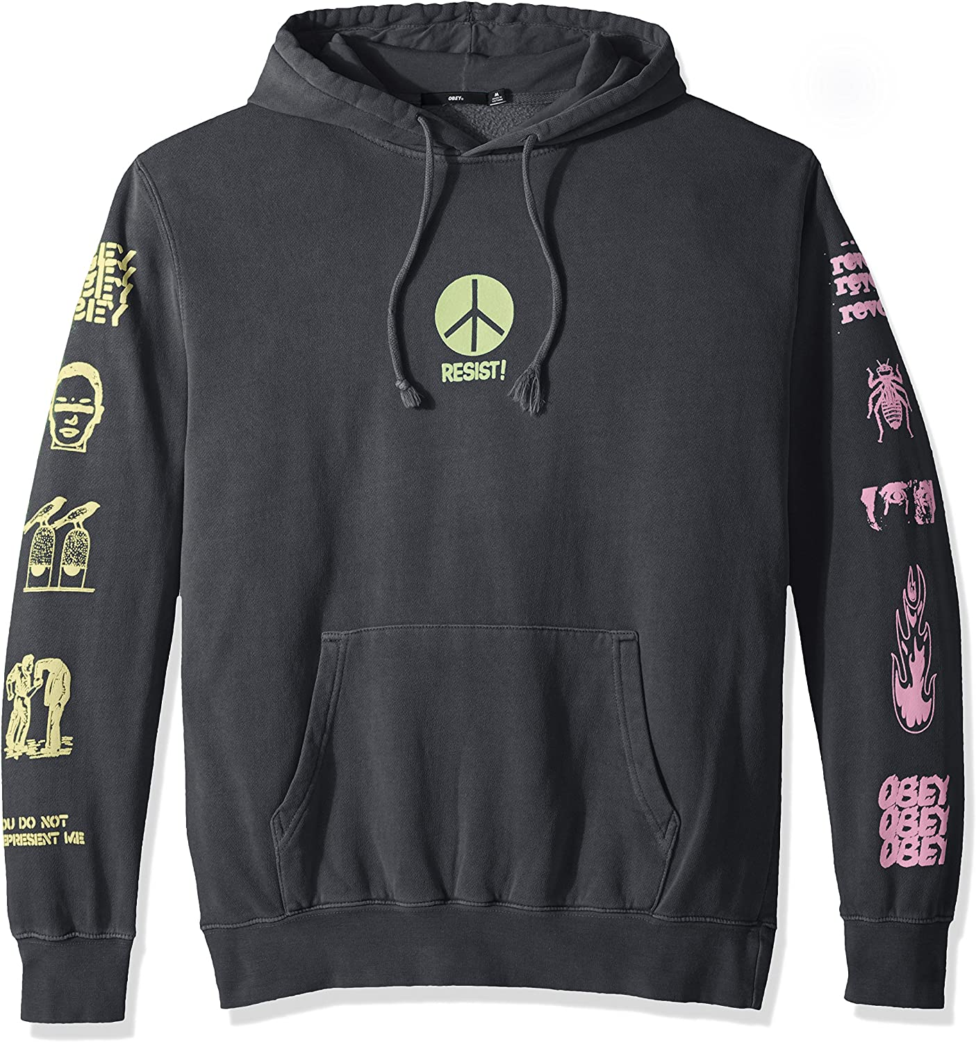 Obey Men's The Next Wave Sweatshirt Hooded Pullover