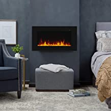 "Real Flame Corretto Electric Fireplace 40"" Black"