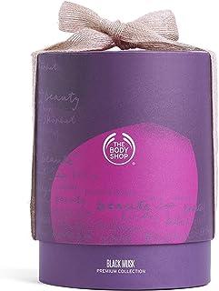مجموعة بلاك مسك من ذي بودي شوب المكونة من 3 قطع عطر او دي تواليت، 30 مل مع جل استحمام، 250 مل ولوشن للجسم، 250 مل