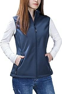 Outdoor Ventures Women's Mia Windproof Full-Zip Fleece Lined Softshell Vest