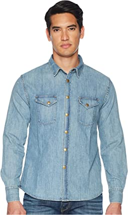 Distressed Denim Shirt
