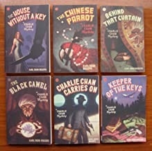 Charlie Chan Mystery Series: Book Set #1-6 (The House Without a Key ~ The Chinese Parrot ~ Behind That Curtain ~ The Black Camel ~ Charlie Chan Carries On ~ Keeper of the Keys)