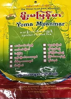 YOMA Pickled Tea Leaves (8) Oz (လက္ဖက္အညႊန္႔အသား)