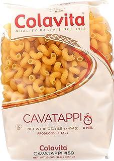 Colavita Pasta, Cavatappi, 16 Ounce (Pack of 20)