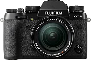 Fujifilm X-T2 + XF18-55mm Cámara Mirrorless, Color Negro