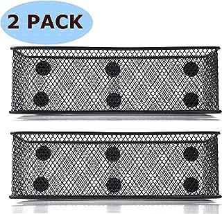 Magnetic Locker Basket Magnetic Baskets for Refrigerator Magnetic Pen/Pencil Holder Locker Accessories - 7.8