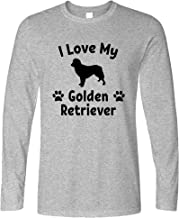 Tim And Ted Dog Owner Long Sleeve I Love My Golden Retriever