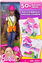 Barbie Builder Doll & Playset, Black Hair