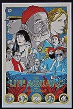 The Life Aquatic with Steve Zissou - Re-imagined - Movie Art Mini Poster