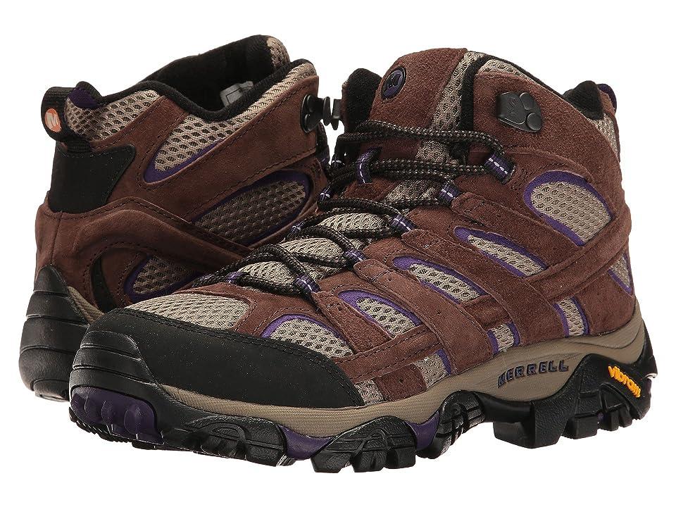 Merrell Moab 2 Vent Mid (Bracken/Purple) Women's Shoes