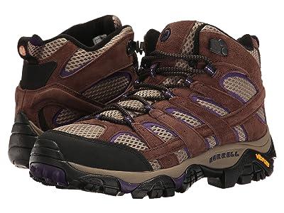 Merrell Moab 2 Vent Mid (Bracken/Purple) Women