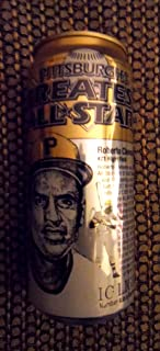 Iron City 16 Ounce Roberto Clemente Pittsburgh Pirates Beer Can