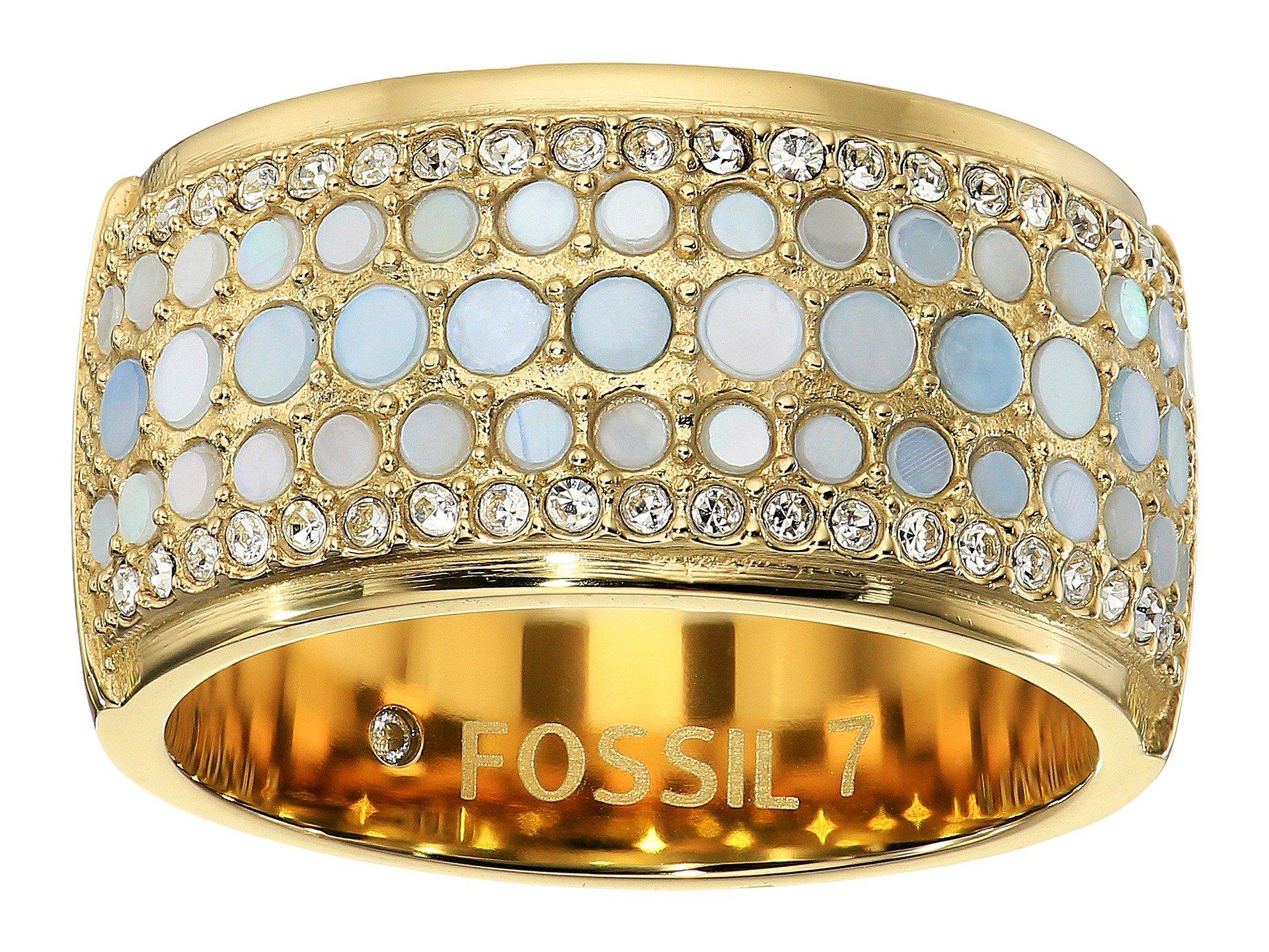 Anillo para Mujer Fossil Vintage Glitz Crystal Ring  + Fossil en VeoyCompro.net