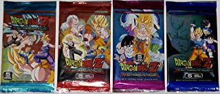 4 Packs Dragon Ball Z Vengeance 2016 Trading Cards Pack bundle [5 cards per pack]