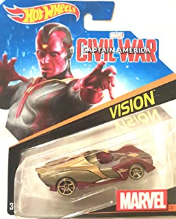 Hot Wheels, Marvel Character Car, Vision (Civil War) #31