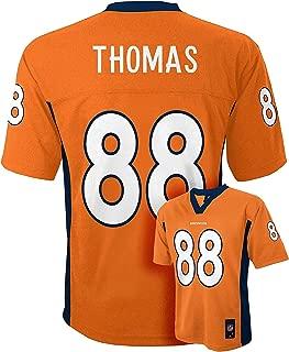 Outerstuff Demaryius Thomas Denver Broncos #88 Orange Kids Mid Tier Home Jersey