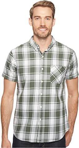 Short Sleeve Clingmans Plaid Shirt
