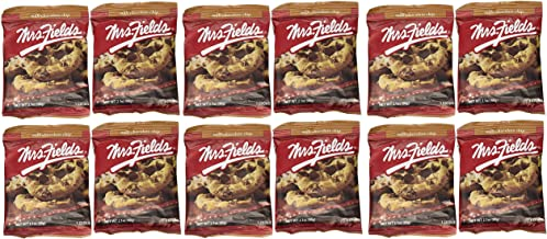 Mrs. Fields Jumbo Individually Wrapped Chocolate Chip Cookies (12 count)