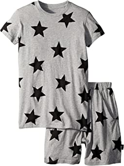 Nununu Star Short Loungewear (Little Kids/Big Kids)