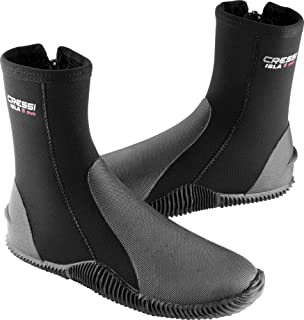 Tall Neoprene Boots for Snorkeling, Scuba Diving, Canyoning, Available in Neoprene 5 & 7 mm | Isla: Designed in Italy