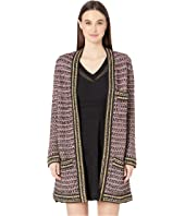 M Missoni - 3/4 Length Boucle Coat