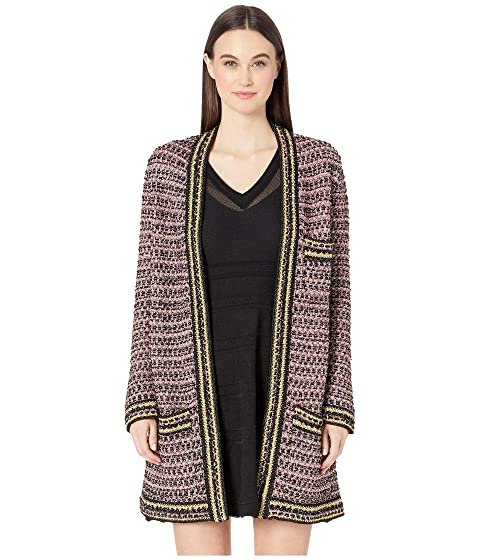 M Missoni 3/4 Length Boucle Coat