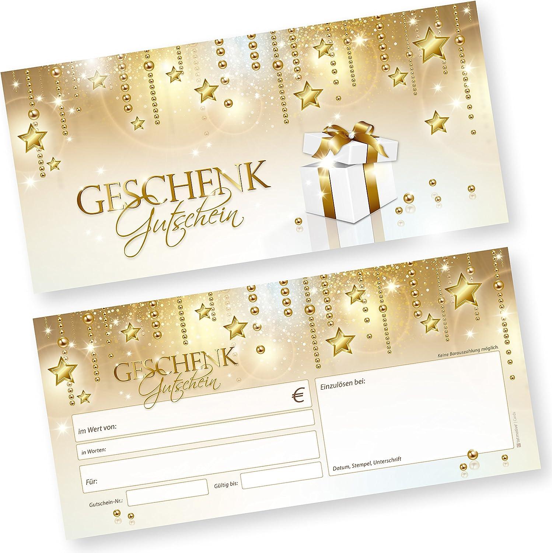 TATMOTIVE Geschenkgutscheine für Weihnachten Stardreams (500 Stück) einfach Werte eintragen eintragen eintragen  Stempel, für Gewerbe aller Art B076BYPR5F | Wirtschaft  9b56e1