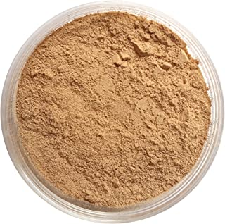 Nourisse Natural 100% Pure Mineral Foundation Sunscreen Powder, 50+ SPF (Medium/
