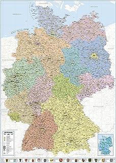 Deutschland Karte Bundesländer Schwarz Weiß.Suchergebnis Auf Amazon De Für Deutschlandkarte