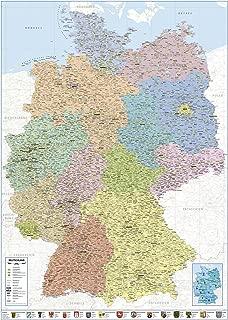 Suchergebnis Auf Amazon De Fur Deutschlandkarte Schule